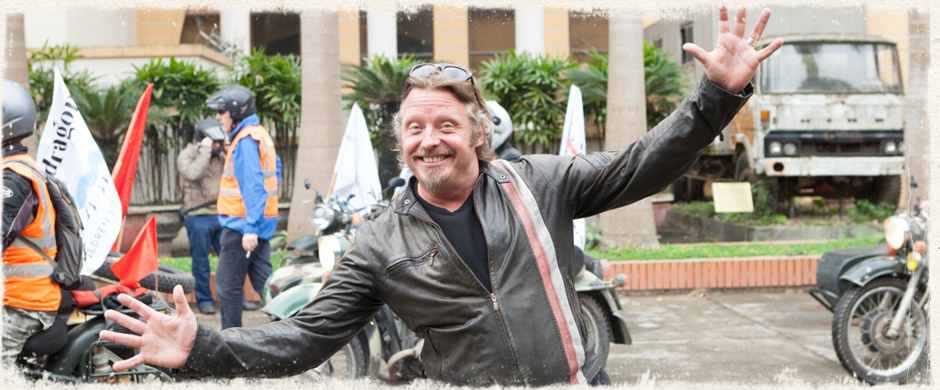 Charlie Boorman helps Rally indochina